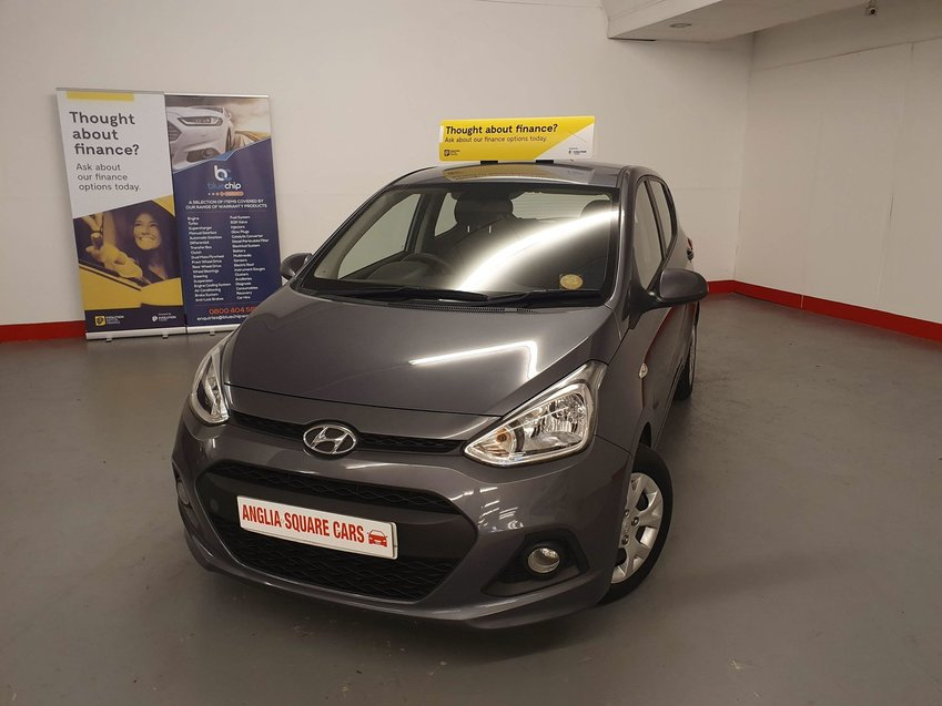 HYUNDAI I10  SE  Grey Manual Petrol, ONLY 43,388 MILES, £30 ROAD TAX
