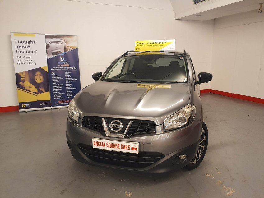 NISSAN QASHQAI dCi 110 360 Grey Manual Diesel, 95,623 MILES, 2X KEYS