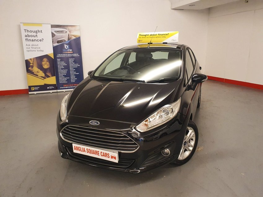 FORD FIESTA T EcoBoost 100 Start-Stop  Zetec Black Manual Petrol, 2015, £0 ROAD TAX, ONLY 30,000 MILES