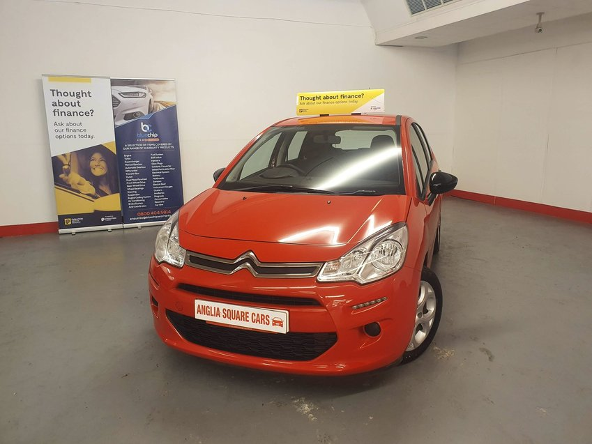 CITROEN C3 PureTech 82 Edition Red Manual Petrol, 49,132 Miles, £20 TAX, ONE OWNER FROM NEW