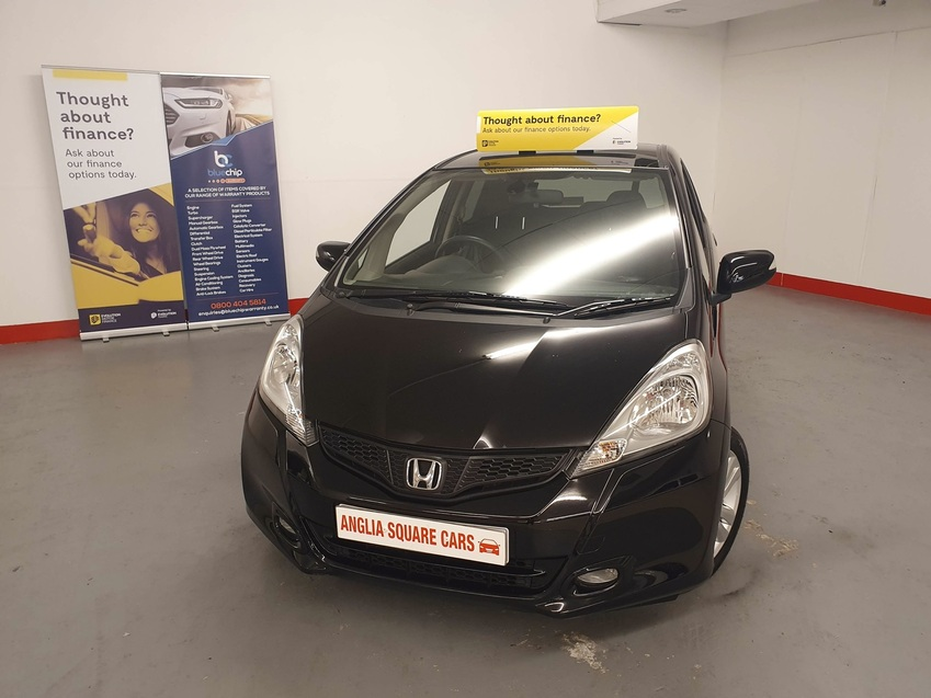 View HONDA JAZZ i-VTEC EX Black Manual Petrol, ONLY 45638 MILES, 2KEYS £125 TAX