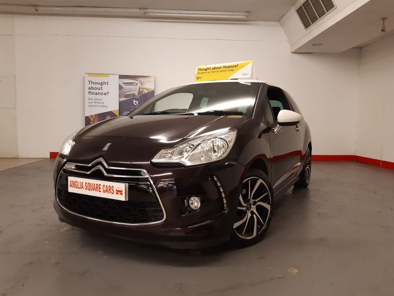 DS AUTOMOBILES DS 3 DS AUTOMOBILES  PureTech 110 Start-Stop DStyle Nav Purple Manual Petrol, SATNAV, ON 30183 MILES