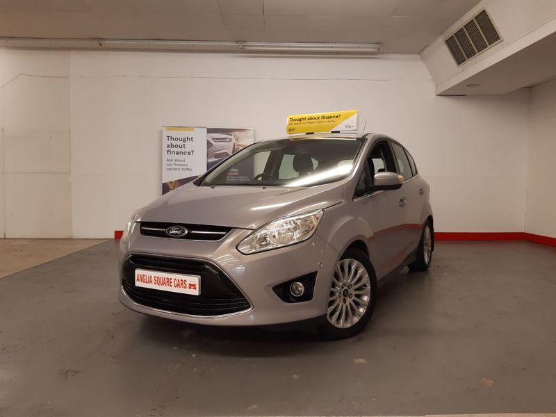 FORD C-MAX FORD C-MAX TDCi 115 Titanium Silver Manual Diesel, ONLY 80974 MILES, FULL SERVICE HISTORY