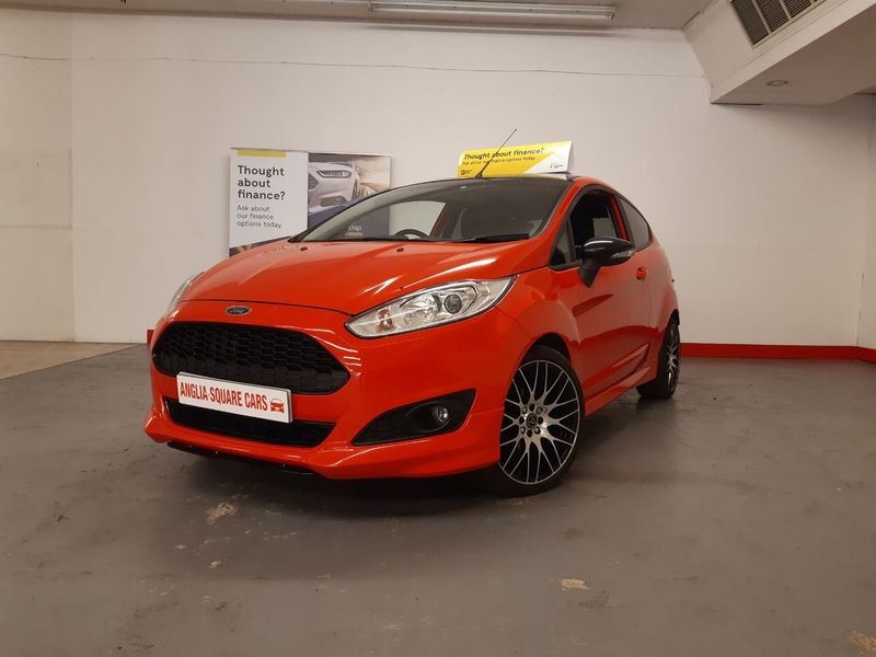FORD FIESTA EcoBoost 140 Start-Stop Zetec S Red Edition Red Manual Petrol, £30 TAX, 31374 MILES