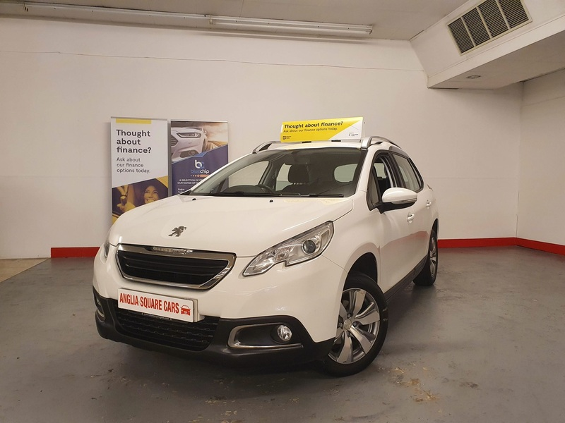 PEUGEOT 2008 PEUGEOT 2008 ACTIVE White Manual Petrol, BLUETOOTH HANDSFREE, 77,694 MILES £30 TAX