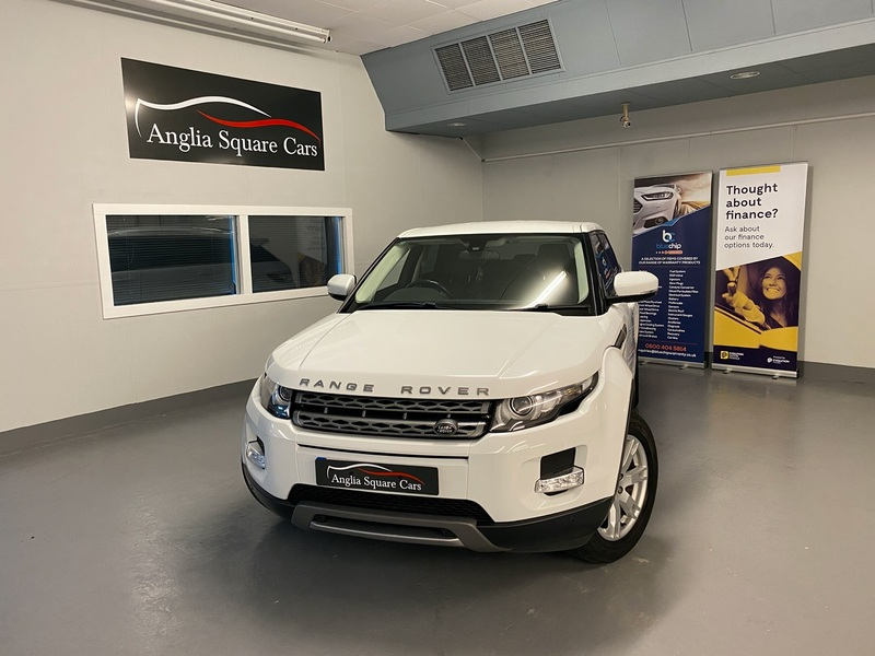 LAND ROVER RANGE ROVER EVOQUE SD4 PURE White Auto Diesel, ONLY 66,500 MILES, FULL SERVICE HISTORY